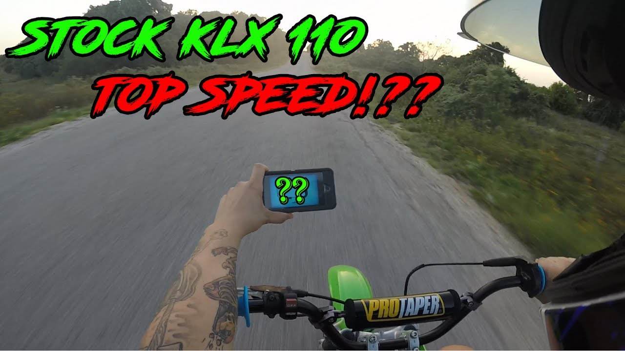 KLX 110 MOTOVLOG | TOP SPEED | PIT BIKE BUILD COMPLETE