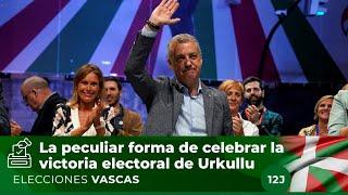 Urkullu celebra su victoria electoral de una forma muy peculiar: cantando