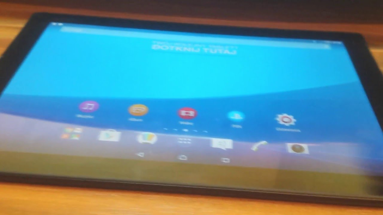 Sony Xperia Z4 Tablet Firmware Flashing (Software Repair)