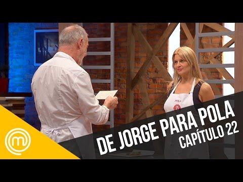 Jorge dedica su plato a Pola | MasterChef Chile 3 | Capítulo 22