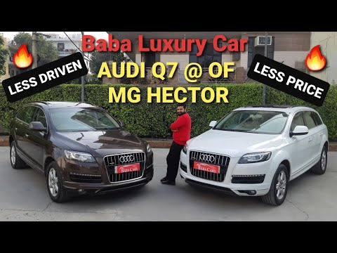 Baba Luxury Car | Audi Q7 in price of MG Hector | Detailed Review...!!!