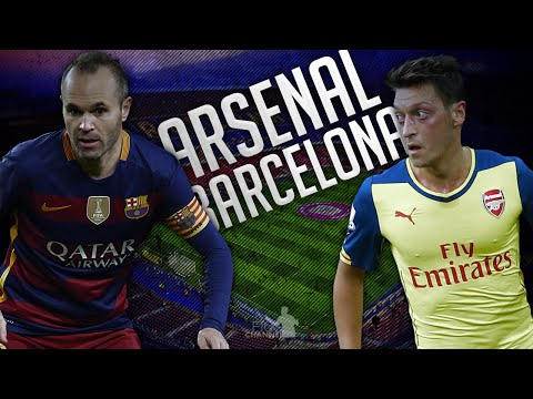 FC Barcelona 3-1 Arsenal ● Champions League PROMO ||HD||