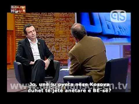 """""""Bugajski Hour"""", interview Albin Kurtin"""