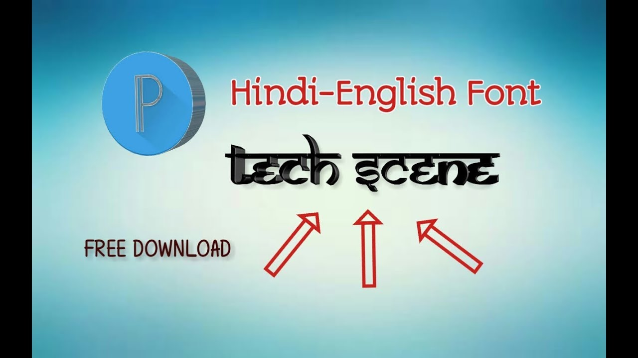 HINDI-ENGLISH FONT IN PIXElLAB | PIXElLAB FONT | PixelLab Custom Font |