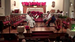Little Jesus Sweetly Sleep/Rocking (String Quartet)