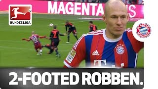 Left Hook, Right Hook - Robben's Double Leaves HSV Out for the Count
