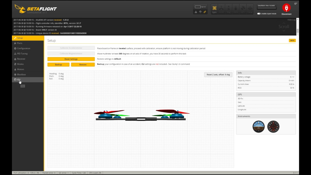 Cli Befehle für one wire softserial / resource remapping / smart audio  Betaflight 3 1 7 Deutsch