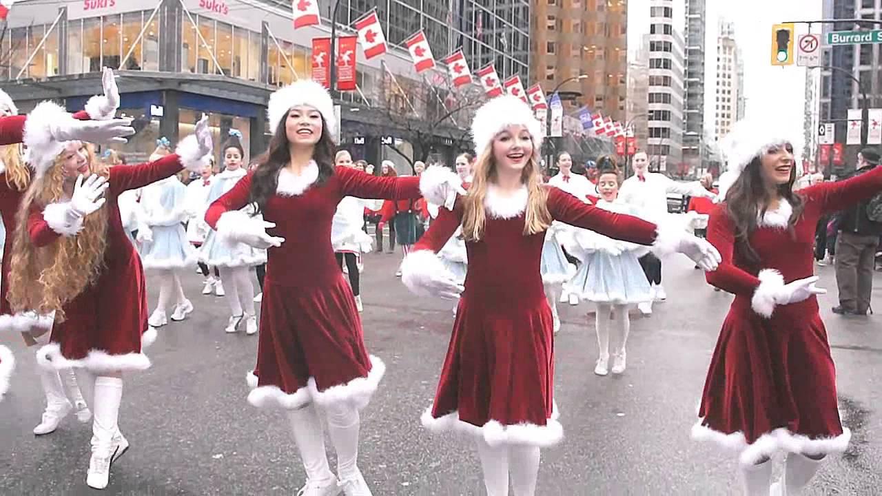 Vancouver Christmas Parade.Rogers Santa Claus Parade Best Christmas Dances In Vancouver
