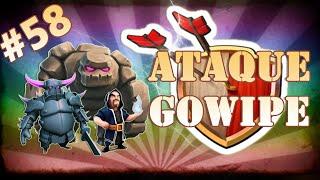 Clash of Clans HD Parte 58 - Centro de Vila 8 (CV8): Ataque GOWIPE (Golem, Magos e Pekkas)