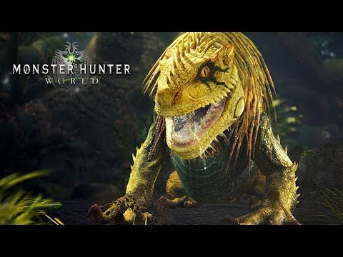 JAGRAS EU VIM CAÇAR VOCÊ - Monster Hunter World thumbnail