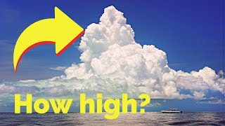 How high in the sky are the clouds?