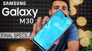 Samsung Galaxy M30 Official specification, Price & Camera !!