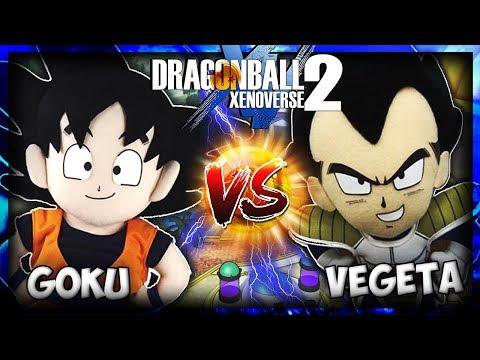 DBZ Movie: Goku Vs Vegeta! Dragon Ball Xenoverse 2!