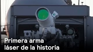 Marina de Estados Unidos prueba la primera arma láser de la historia - Despierta con Loret