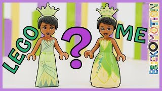 Who Made a Better Tiana Minidoll? LEGO or Me?