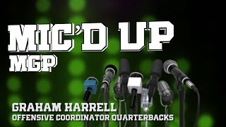 North Texas Football: Spring Camp - Graham Harrell gets Mic'd Up