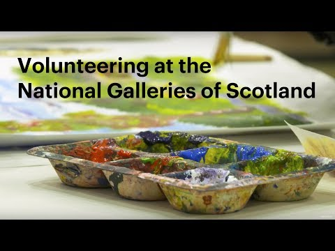 Volunteering with the National Galleries of Scotland