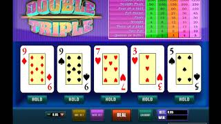 Игровой автомат DOUBLE TRIPLE играть бесплатно и без регистрации онлайн