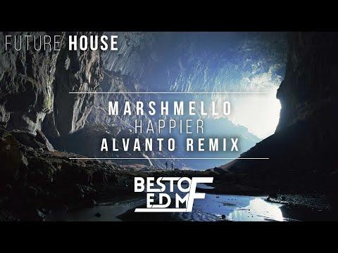 Marshmello ft. Bastille - Happier (Alvanto Remix)