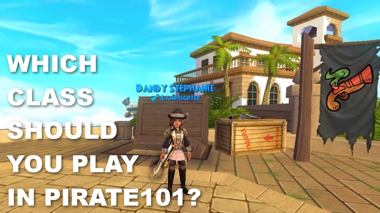 Pirate101: Which Class to Choose?