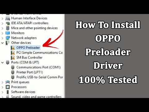 how-to-install-oppo-preloader-driver-|-100%-tested-solution