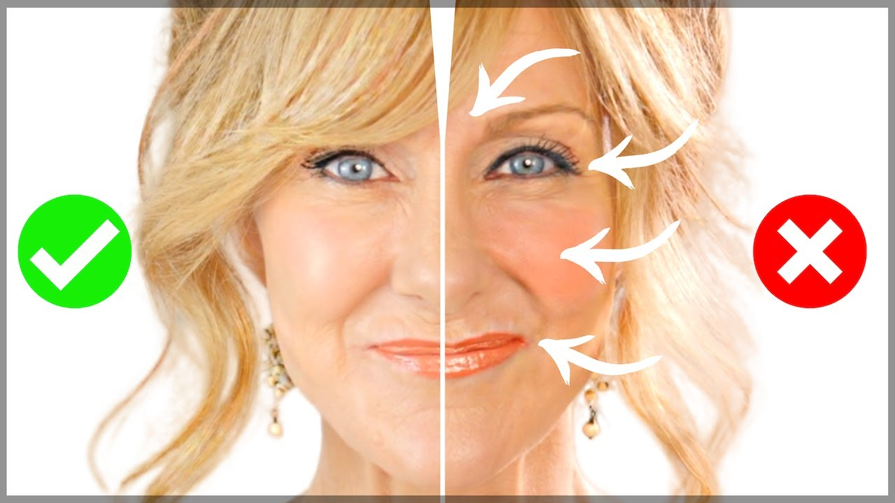 10 MAKEUP MISTAKES On Mature Skin Over 100  Fabulous100s!
