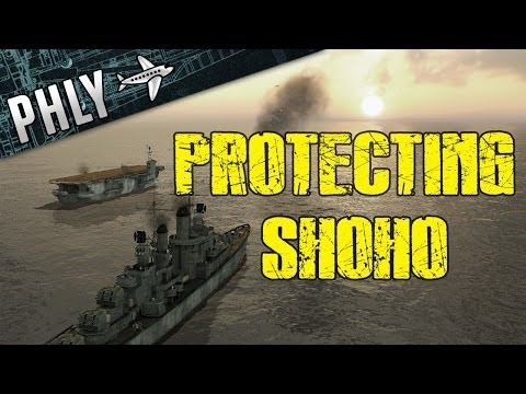 Battlestations Pacific - Protecting SHOHO - Quest for War Thunder Ships #1