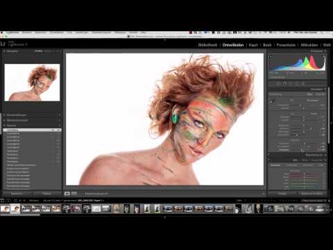 Fashion Look in Lightroom