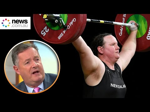 """Piers Morgan blasts first transgender Olympic athlete over """"women's rights"""""""