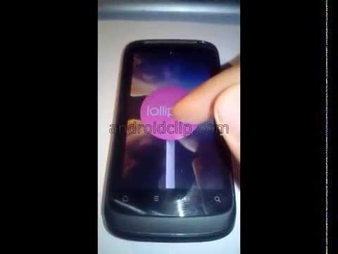 HTC Desire S Lollipop 5.0
