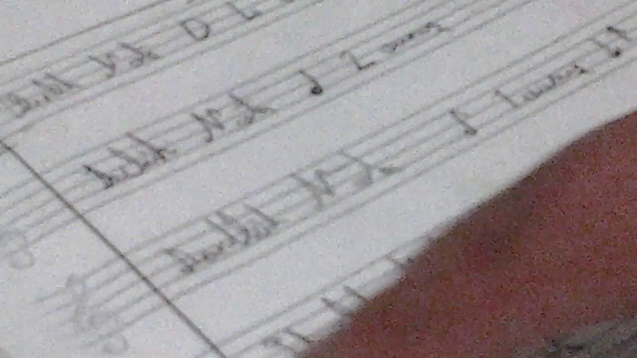 5 Sinif Muzik Birlik Notalar Youtube