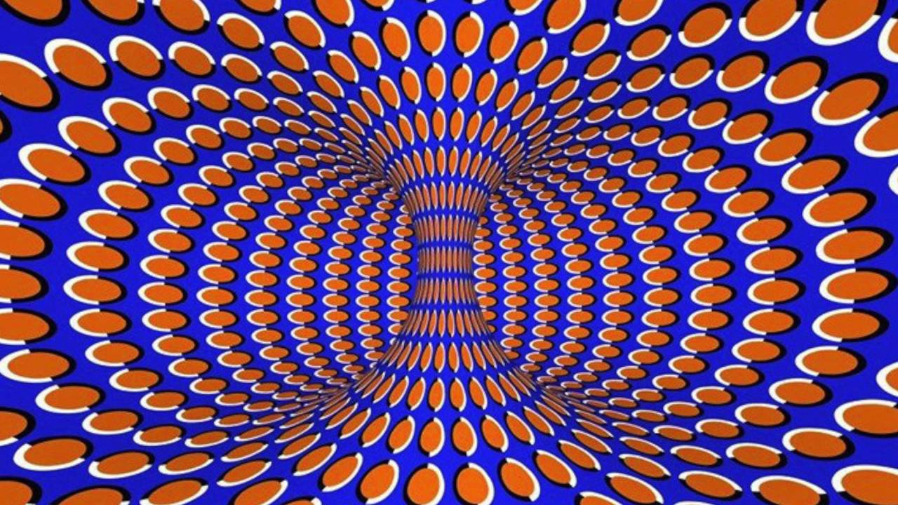 que imagenes optical illusion moving effect illusies shape carousel optische pages