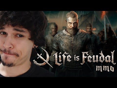 Life Is Feudal MMO | EP1 ( + SORTEIO KEY, PC STEAM)