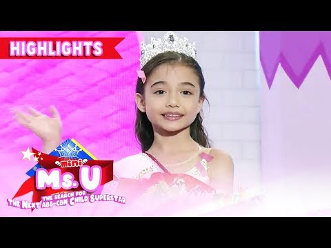 Maya Simpson Enters The Semifinals | It's Showtime Mini Miss U