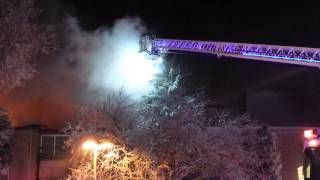 Rolling Meadows Extra Alarm Fire 5201 Carriageway Dr. 3/4/15
