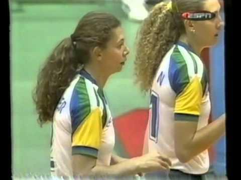 【Women Volleyball】【1999 World Cup】【Brazil vs Cuba】