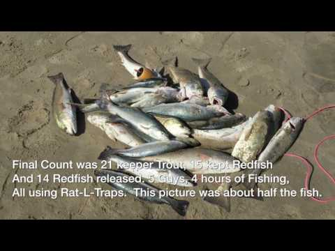 Surf Fishing Artificial Lures Redfish, Speckled Trout Gulf Coast