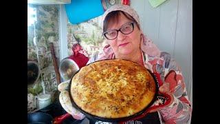 Пирог с творогом.  Как приготовить? Рецепт.