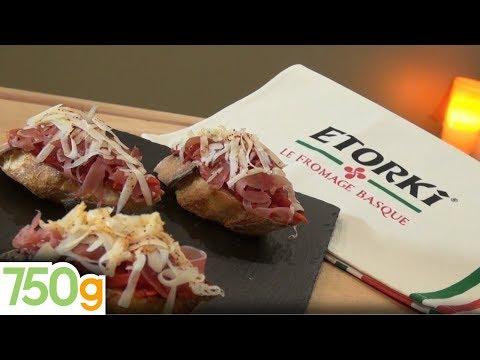 recette-de-crostini-piquillos,-jambon-de-bayonne-et-etorki---750g