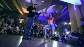 "DANIEL y DESIREE bachata LOFToDANCE.pl *Workshops*CRACOW POLAND EUROPE ""Eres Mía"" Romeo Santos"