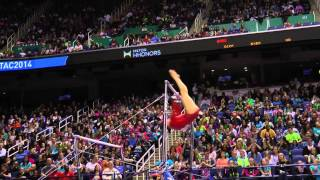 Victoria Moors - Uneven Bars - 2014 AT&T American Cup
