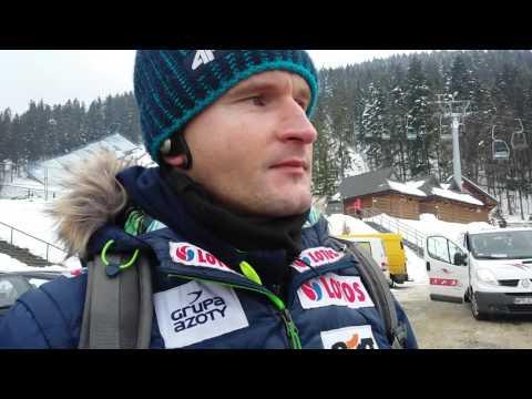 Trener Maciej Maciusiak po PK w Zakopanem 13.02.2016