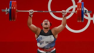 Emily Campbell Brings Home the UK's First Olympic Medal in Women's Weightlifting