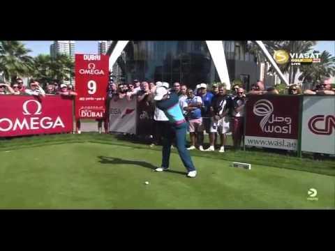 Rory McIlroy Final Round Omega Dubai Desert Classic 2015