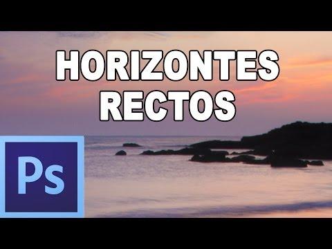 Como Poner Recta Una Fotografia - Tutorial Photoshop En Español Por @prismatutorial
