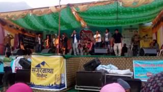 उही खोलिमा पानीले ततायो माहोल रोल्पामा Rajan Gurung singing Uhi kholima pani in Rolpa Mahotsab