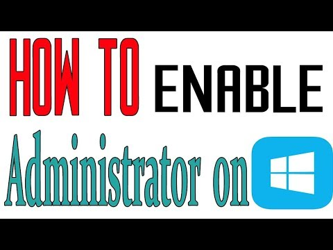 How To Enable Administrator On Windows 10