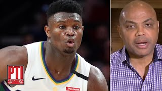 Zion Williamson is more explosive than I was - Charles Barkley | Pardon the Interruption