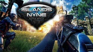 AWESOME FIRST PERSON BATTLE ROYALE  ISLANDS OF NYNE GAMEPLAY LIVE