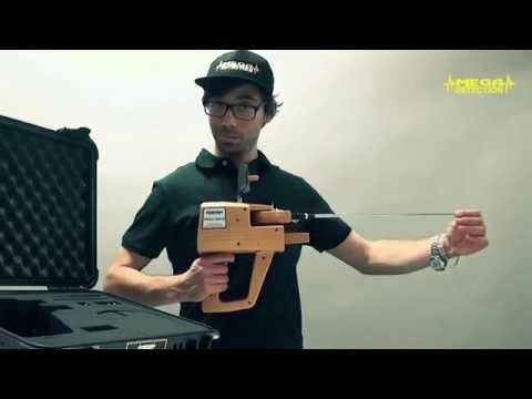 MEGA GOLD Metal Detector training video